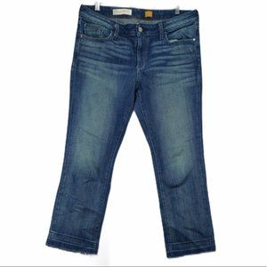 Anthro Pilcro and the Letterpress crop jeans